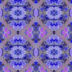 That Damn Damask fabric by edsel2084 on Spoonflower - custom fabric