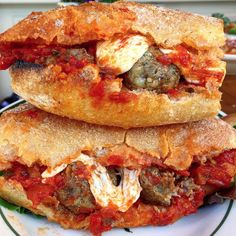 Meatball Parm Sandwich
