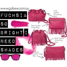 Fuchsia Edit! by stylecapital on Polyvore featuring GlassesUSA, Topshop, NARS Cosmetics and fuchsia