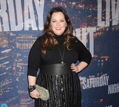 """Melissa McCarthy showed off her slimmer figure on the """"Saturday Night Live 40th Anniversary Special"""" red carpet!"""