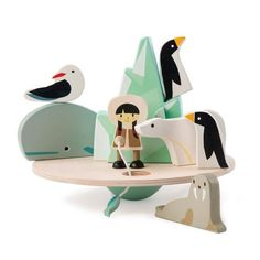 Tip the balance with Tender Leaf Toys Balancing Polar Circle game. Fun wooden balancing game doubles as arctic playset. Buy now at The Toy Centre. Le Morse, Mulberry Bush, Circle Game, Plan Toys, Fishing Girls, Fishing Rod, Arctic Circle, Learning Through Play, Scroll Saw