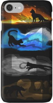 Warrior Cats: Four Elements, Four Clans iPhone 7 Cases