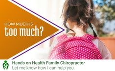 Chiropractic Clinic, Family Chiropractic, Holistic Approach, Kids Backpacks, Safety, Join, Child, Hands, Health