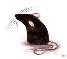 Rat by Melissa  van der Paardt