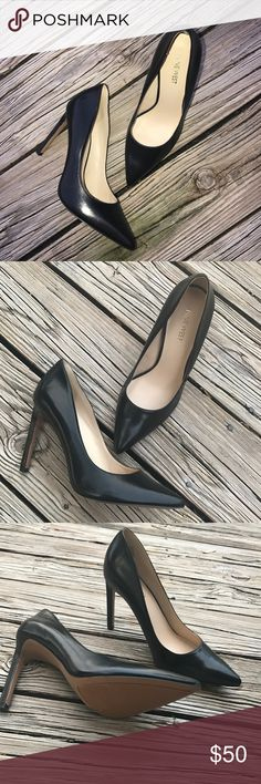 NWOT Nine West Black Pointed Pump Brand new! Black, sexy, sophisticated, pointed-toe pump every woman needs in their closet! These babies need a good home ladies 😍✨ Nine West Shoes Heels
