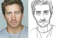draw you as Disney human character