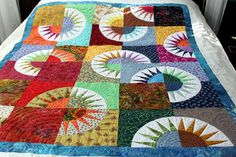 LOVE this design. would love a true King size (this is a lap quilt)