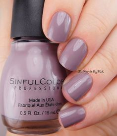 Sinful Colors So Daupe! | Be Happy And Buy Polish https://behappyandbuypolish.com/2017/04/28/sinful-colors-soul-mate-jade-kat-so-daupe-deep-end-nail-polish-swatches-review/