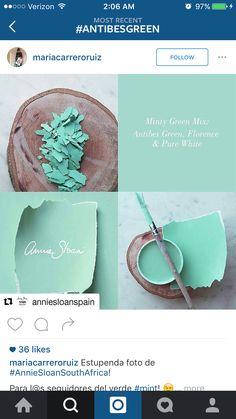 Mint Annie Sloan mix
