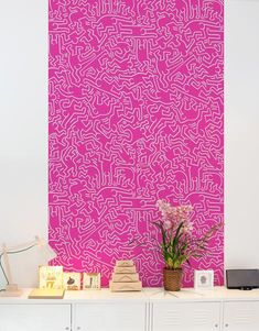 Dancers Pattern Wall Tiles by Blik wall decals bring a burst of pattern into standard home and office spaces in a whole new way. With Pattern Wall Tiles, you can create an accent over a bed, on an interior door or frame a small section of a wall.