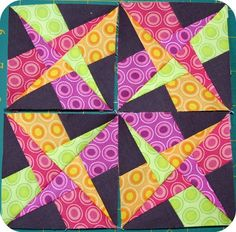 Crazy Amish Quilt block