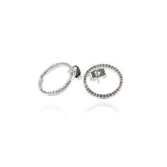 Circle Earring Silver
