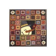 Primitive Gatherings Cabin Friends quilt pattern