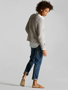 EILEEN FISHER: The Edit. Spring Looks We Love. So casual but attractive.