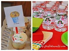A Very Hungry Caterpillar First Birthday Party by Frosted Events Cake, dessert bar buffet, party favors, decorations http://frostedevents.com/blog @Frosted Events #1stbirthday party #kidspartyideas #hungrycaterpillar