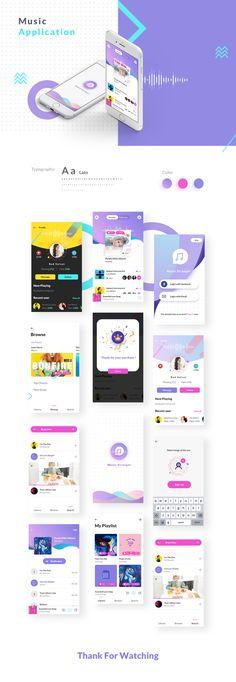 This app reflects the energy and positive emotion that m… – Design Best App Design, Web Design, App Ui Design, Mobile App Design, Ui Design Tutorial, App Log, Coloring Apps, App Design Inspiration, Music App