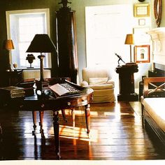 The Blass style effortlessly extended to the spaces he inhabited. This is the living room of his Connecticut house.