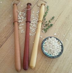 Spurtle  Porridge stirrer by WiLDwoodencreations on Etsy