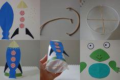 space theme; pond/woods/reptiles theme (frog); Easter/spring (rabbit); wild animals (kangaroo)