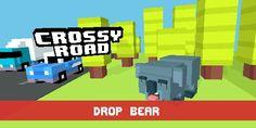 Crossy road DROP BEAR