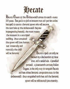 Goddess Hecate Prayer
