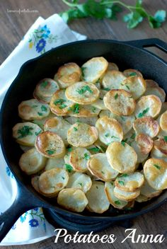 Buttery sliced potatoes baked up to perfection! www.lemonsforlulu.com