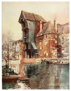 en Edward y Theodore Compton ilustradores Danzig, Urban Sketching, Beauty Art, Art Boards, Watercolor Art, Illustration Art, Fine Art, Drawings, Artwork