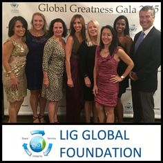 Congratulations LIGGlobal.org on the amazing success of your first gala!