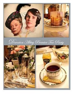 Recipes and crafts for a Downton Abbey tea party from PennyWise