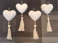 formine per gessetti profumati - Cerca con Google Clay Christmas Decorations, Christmas Crafts, Christmas Ornaments, Clay Projects, Clay Crafts, Arts And Crafts, Heart Crafts, Clay Ornaments, Wedding Favours
