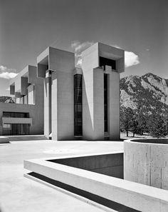 National Center for Atmospheric Research | 1967 | Boulder, Colorado | I.M. Pei's | photo © Ezra Stoller/Esto