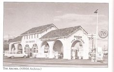 The Arches. Where my Dad met my stepmother and I was allowed to drink wine at like 17