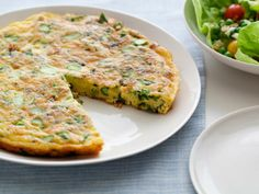 Asparagus and Jack Cheese Frittata #HolidayCentral