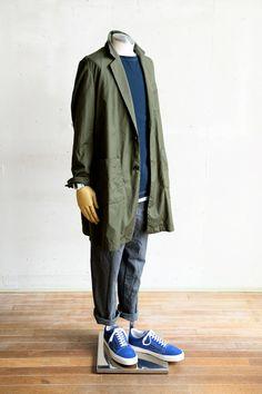 Suggestion of The Men's Spring Coat Style Unisex Fashion, Mens Fashion, Spring Style, Spring Summer, Sartorialist, Denim Jacket Men, Well Dressed Men, Urban Outfits, Blazers For Men