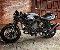 Our friend @thetuscangun and his beautiful transformation of our old Sport Classic. Couldn't have gone to a better dude. Congrats Gabriele #Ducati #sportclassic www.janemotorcycles.com (at JANE Motorcycles)