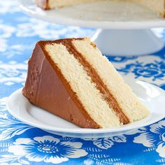 Yellow Layer Cake   Cook's Country