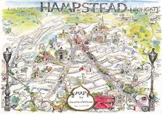 Jonathan Addis » Hampstead Map