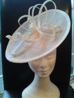 Cream hat custom made
