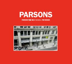 she dreams of going to Parsons School of Design after she finishes college. She wants to explore many aspects of art and culture as she can Parsons School Of Design, The New School, College, Explore, Places, Poster, Bucket, Culture, Dreams