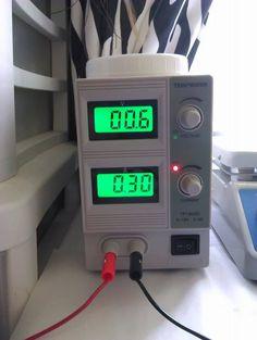 Copper Electroforming Crystal Ring w/Tekpower Rectifier