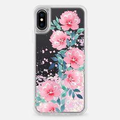 Watercolor flowers n.1 - Glitter Case