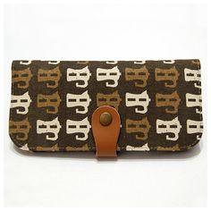 Handmade Bifold Wallet Long Wallet Women's Clutch