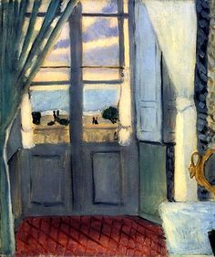 The Closed Window / Henri Matisse - 1918-1919
