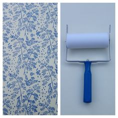 Patterned+Paint+Roller+in+Spring+Bird+Design+and+by+NotWallpaper,+$37.00