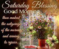 Saturday Blessing, Good Morning