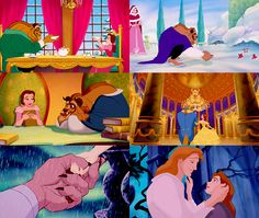 Beauty and The Beast  Belle had a brain and doesn't care what other people think. That's why she's the best princess
