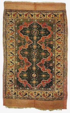 Central Anatolia, Medallion rug, 16th