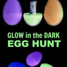 Glow-in-the-Dark Egg Hunt