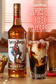 Order Captain Morgan Original Spiced Rum on Drizly and have it delivered directly to your door in under 1 hour. Drizly makes it easy to shop for rum online. Cocktails, Party Drinks, Cocktail Drinks, Liquor Drinks, Alcoholic Drinks, Beverages, Iced Coffee, Coffee Drinks, Coffee Enema