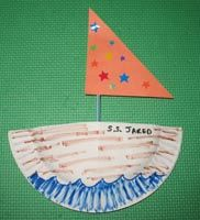 Add a deck made of folded paper  sc 1 st  Pinterest & preschool road/car craft u2026 | transporu2026